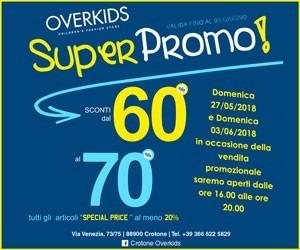 OverKids – Laterale – Scad 31 maggio