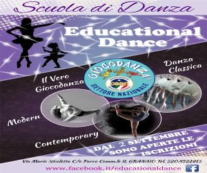 Educational Dance Laterale – Scad. 30/09/2019
