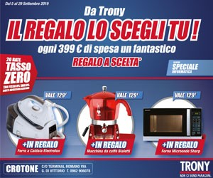 Trony laterale – scad. 29/09/2019
